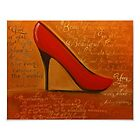 &quot;Red Stiletto&quot; by Melissa Goza