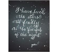 """Loved the Stars""  by Melissa Goza"