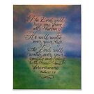 """The Lord will Watch"" Psalm 121  by Melissa Goza"
