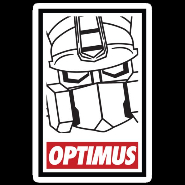 Optimus by tombst0ne