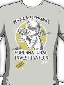 Pewdie & Stephano's Investigation Service T-Shirt