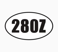 280Z - Oval Identity Sign by Ovals
