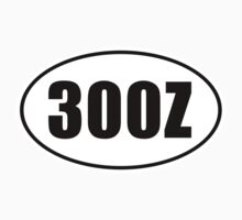 300Z - Oval Identity Sign by Ovals