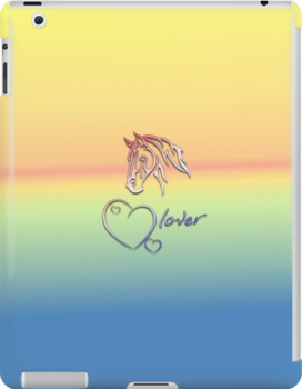 "I-Pad case ""Horselover"" - Sundowner edit by scatharis"
