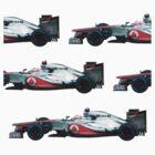 Jenson Button F1 car by loutolou