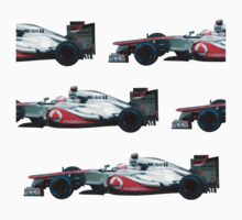Jenson Button F1 car by loutolou