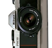 Nikon Camera Iphone Hard Case by catorregosa