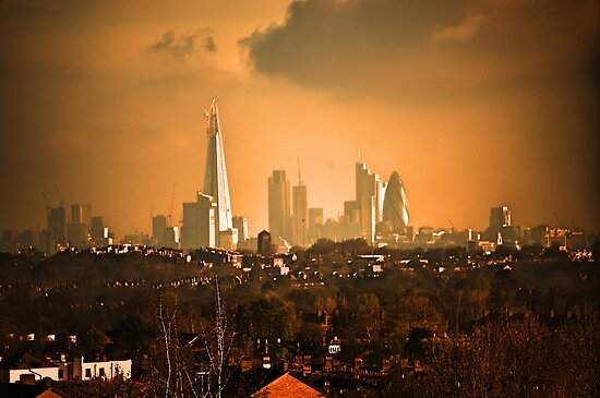 London City Skyline by DonDavisUK