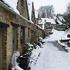 A Picture Postcard Cotswold Village by Sue Gurney