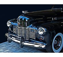 1941 Cadillac Convertible Grill Detail Photographic Print