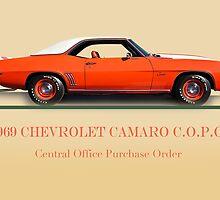 1969 Chevrolet Camaro COPO w/ID by DaveKoontz