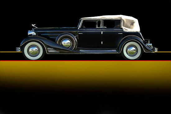 1933 Cadillac V16 Convertible Sedan w/o ID by DaveKoontz