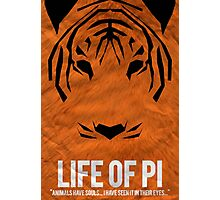 Pi of the Tiger Photographic Print