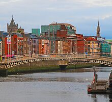 Dublin On The River Liffey by mcstory