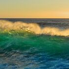 Glowing Surf by Randy Richards