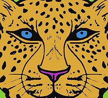 WILDCAT-LEOPARD by OTIS PORRITT