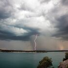 Cronulla Lightning Bolt by David Haworth