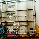 Train Car Graffitti by JustinH22