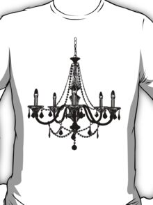 Black Chandelier T-Shirt