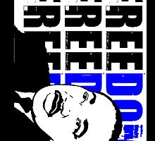 MLK-FREEDOM BLUE by OTIS PORRITT
