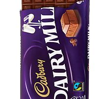 Cadbury Chocolate hard back case by catorregosa