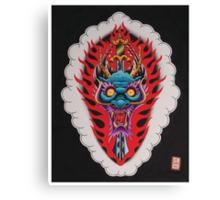 Dragon Head and Sword Canvas Print