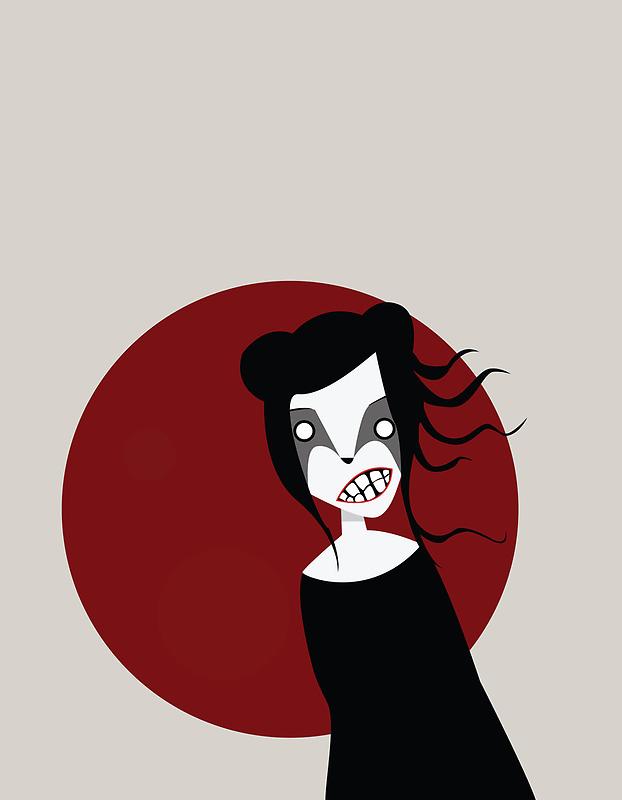 Red Moon by volkandalyan