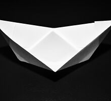 Paper boat by Salmonstudio