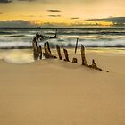 S.S Dicky, Caloundra, Sunshine Coast, Australia by Aaron  Bishop