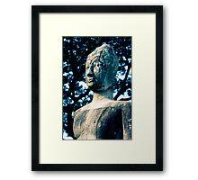 Ancient Buddha, Thailand  Framed Print