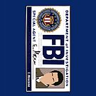 Castiel's FBI Badge by blainageatrois