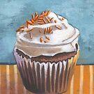 Summertime Yellow Cupcake by sivieriart