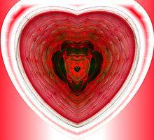 Foci#15: Garnet Heart (G1065) by barrowda
