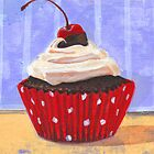 Red Cherry Cupcake by sivieriart