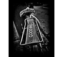 The Good Bike Photographic Print