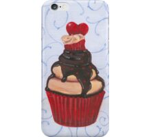 Valentine's Day Cupcake iPhone Case/Skin