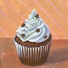 Chocolate Stars Cupcake by sivieriart