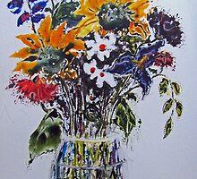 Bouquet of Sunshine by bevmorgan