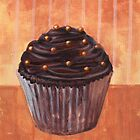 Chocolate Monster Cupcake by sivieriart