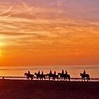 Riding into the sunset by studenna