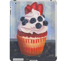 Mad Blueberries Cupcake iPad Case/Skin