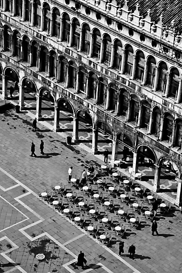 San Marco Piazza Cafe by MorganaPhoto