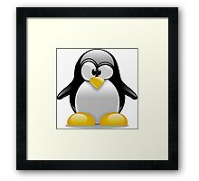 Tux The Penguin Framed Print