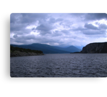 Stormy Day in Newfoundland Canvas Print
