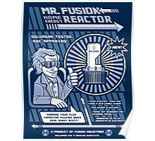 Vintage Mr. Fusion Ad (Circa 2060) Poster