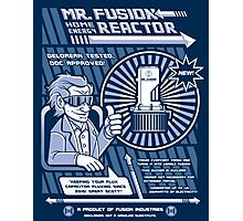 Vintage Mr. Fusion Ad (Circa 2060) Photographic Print