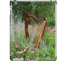 Floral Harp iPad Case/Skin