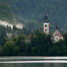 Island church by Ian Middleton