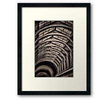 Porridge- Old Melbourne Gaol, Melbourne Victoria Aust. - The HDR Experience Framed Print