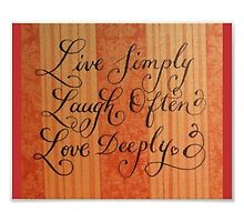 """Love Deeply"" by Melissa Goza"